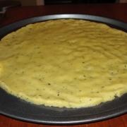 Amandelmeel Pizzabodem en Crackers