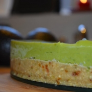 Avocado 'Cheesecake' - Raw, Vegan en Paleo!