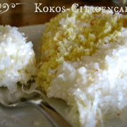 Paleo Kokos-Citroencake