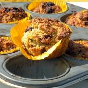 Worteltjestaart Cupcakes - Graanvrij & Vegan