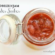 Aardbeienjam zonder suiker - Paleo&Vegan