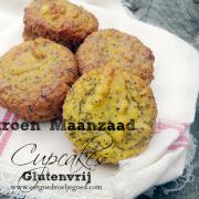 Citroen-Maanzaad Cupcakes - Glutenvrij