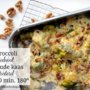 Bespaar op je Boodschappen Dag #22: Broccoli met Walnoot uit de Oven