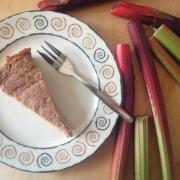 Rabarber Clafoutis zonder Granen {Glutenvrij, Paleo- & GAPS-proof}