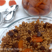 Parelgort Abrikoos en Rozijnen Pudding