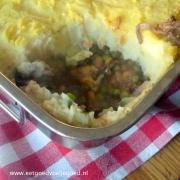 Shephard's Pie - Gehaktschotel met Bloemkoolpuree