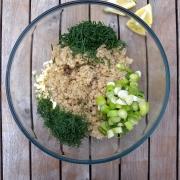 Quinoa Salade met Verse Kruiden