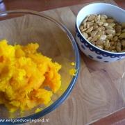 Pompoenpuree zelf maken + Geroosterde Pompoenpitten