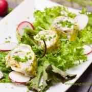 Gezond ontbijt: Gevulde Omelet en Salade