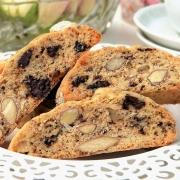 Amandel, Sinaasappel en Pure Chocolade Biscotti - Glutenvrij
