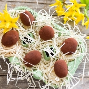 Chocolade Truffel Paaseitjes