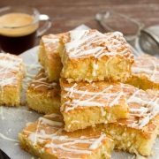 Kokos en Banaan Plaatcake - Glutenvrij, Lactosevrij