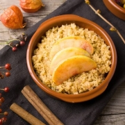 Kids Favoriet: Appeltaart Quinoa ontbijtbowl - Glutenvrij