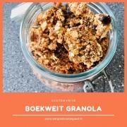 Boekweit Granola - Glutenvrij