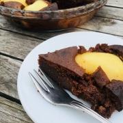 Peer en Chocolade Cake - Glutenvrij