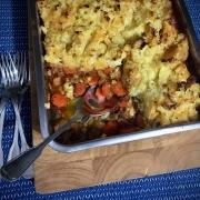 Shepherd's Pie met Knolraap en Aardappelpuree