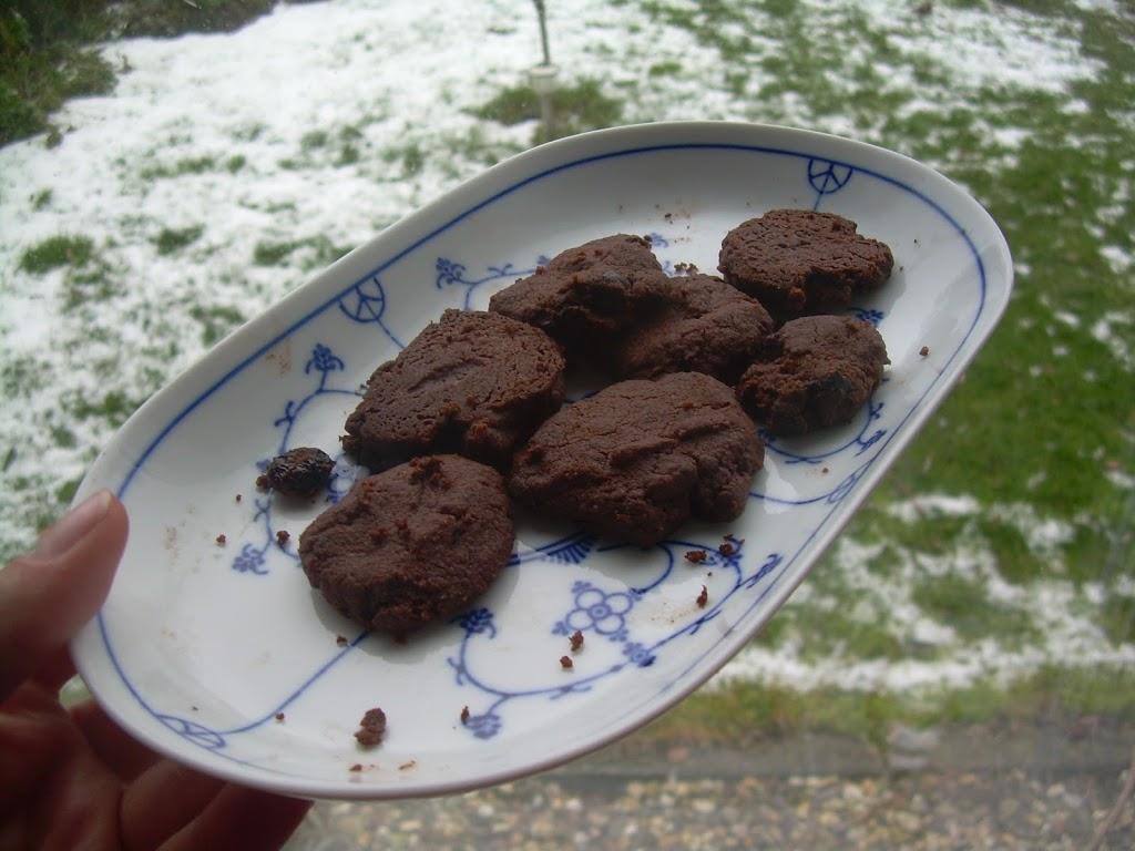 Choco-Amandelkoekjes