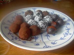 decadente chocoladetruffels
