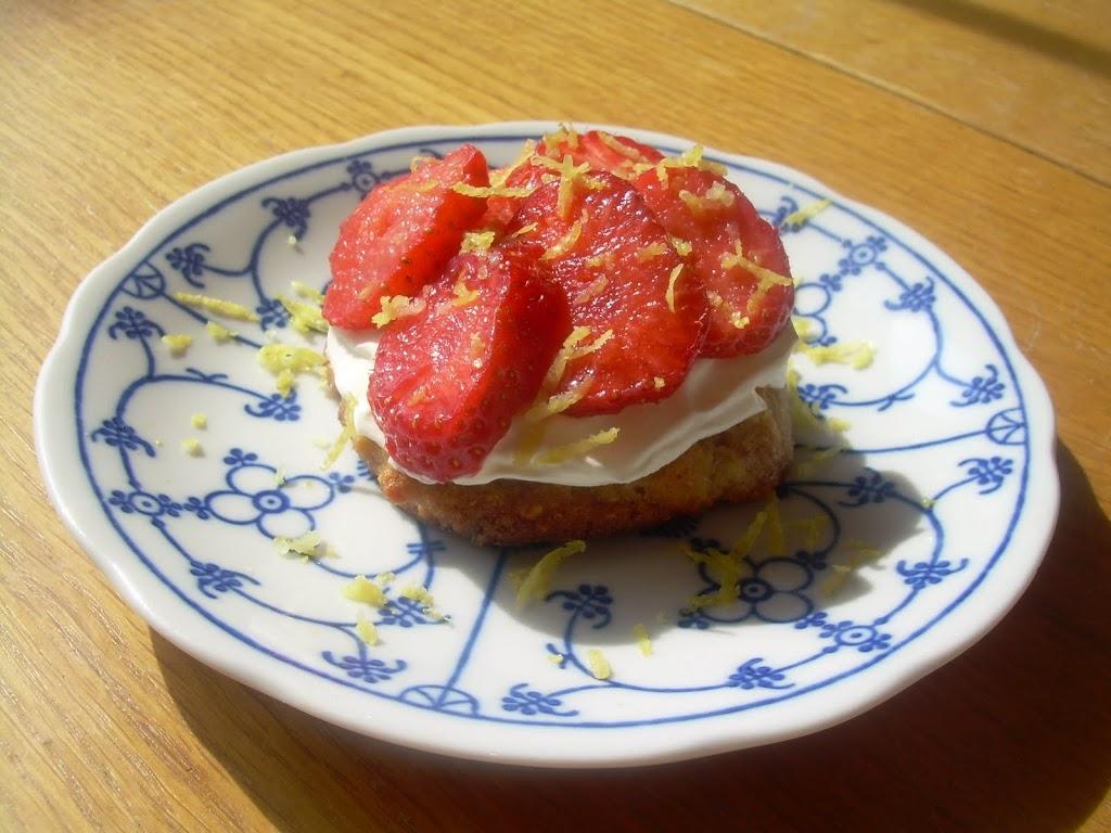 Aardbeitaartje voor 1 – Glutenvrij