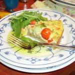 Glutenvrije Vega Quiche