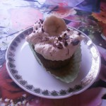 Amandelmeel Banaan Cupcakes