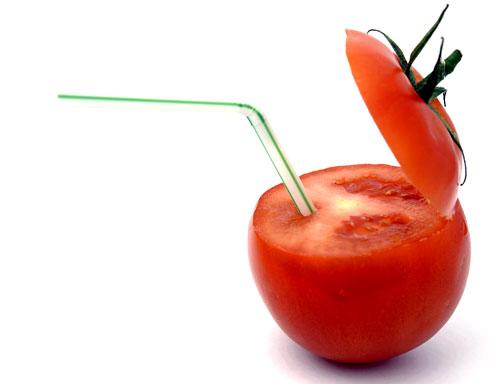 Tomatensap met…