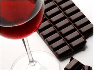 Eet meer Chocola en Drink meer Rode Wijn