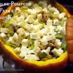 Gevulde Pompoen met Feta en Walnoot – Vegetarisch