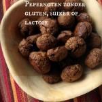 Pepernoten 2.0 Glutenvrij, Lactosevrij