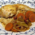 Slow Cooker Italiaanse Kip