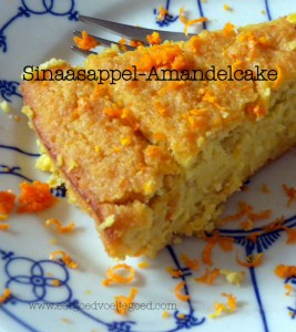 Sinaasappel Amandelcake