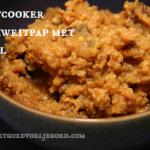Dag 11 Uitdaging: Slow Cooker Boekweitpap