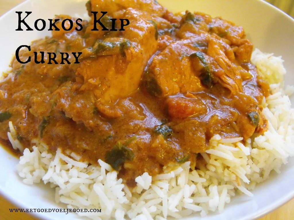 kip kokosmelk curry