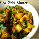 Aloo Gobi Mutter (Aardappelen met Bloemkool Curry)