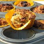 Worteltjestaart Cupcakes – Graanvrij & Vegan