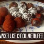 Makkelijke Chocoladetruffels – Lactosevrij