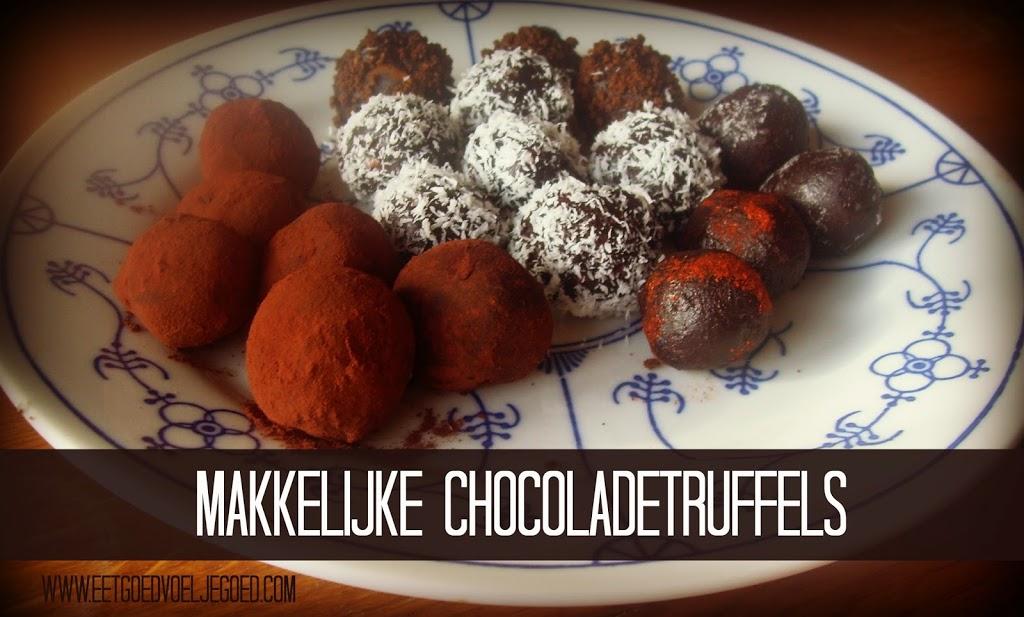 Chocoladetruffels - Lactosevrij