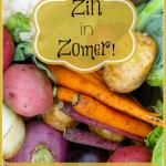 Give-Away Zin in Zomer! Winnaars!
