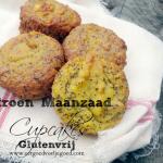 Citroen-Maanzaad Cupcakes – Glutenvrij