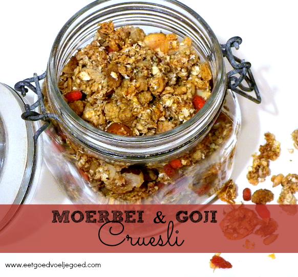 Moerbei en Goji Cruesli