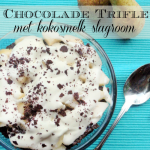 Bespaar op je Boodschappen Dag #15: Chocolade Trifle met Kokosmelk Slagroom