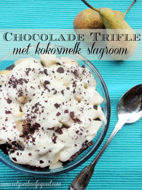 Chocolade-Trifle