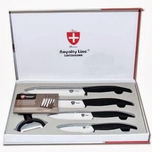 Review en give away kitchen more - Set de cuchillos royalty line ...