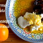 Warme Dadels in Sinaasappel-Botersaus