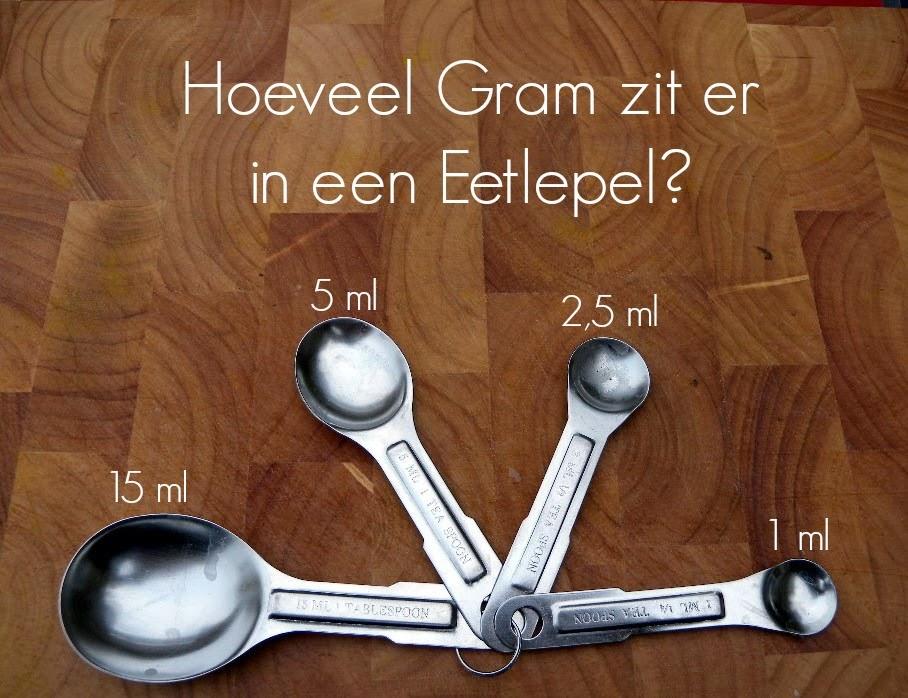 hoeveel eetlepels is 100 gram suiker