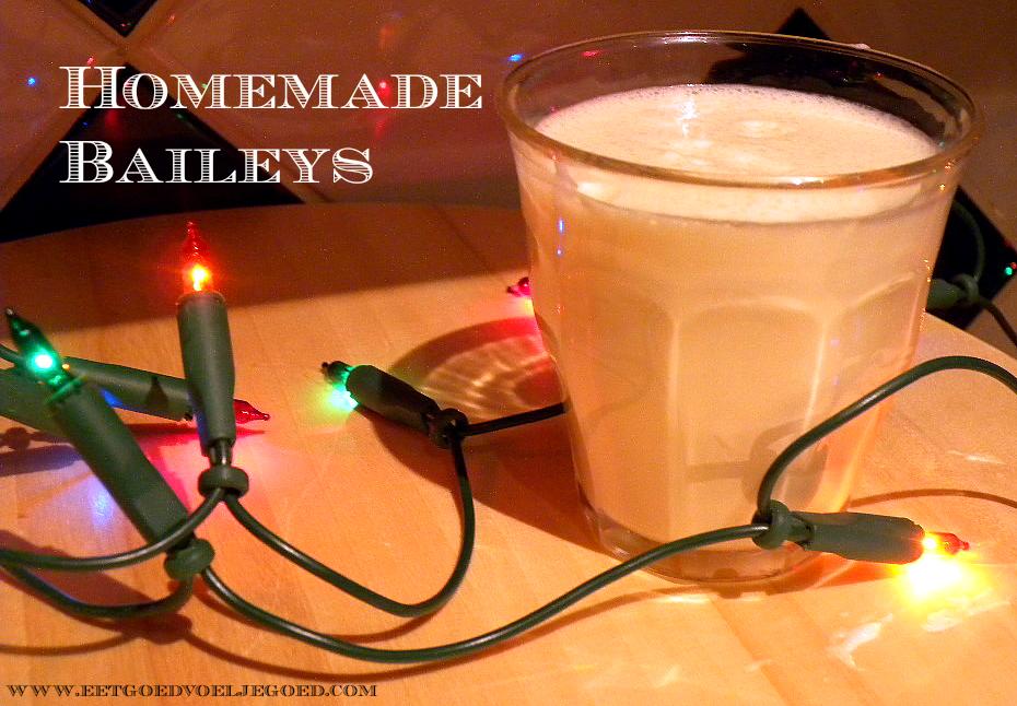 Zelfgemaakte Baileys