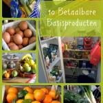 10 Betaalbare Basisproducten