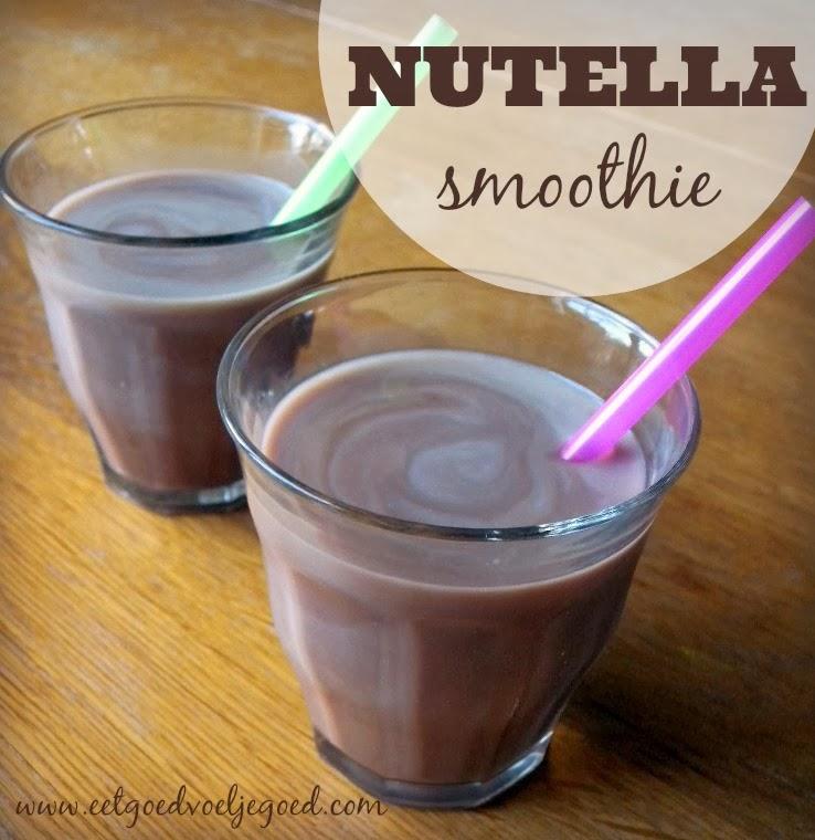 Suiker Pauze Dag 7: 'Nutella' Smoothie