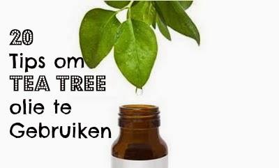20 Tips om Tea Tree Olie te Gebruiken