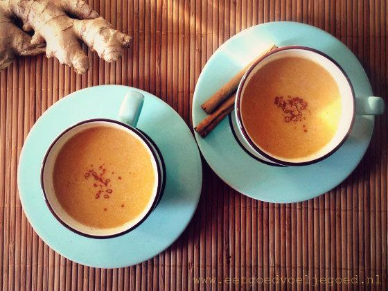 warme pompoendrank